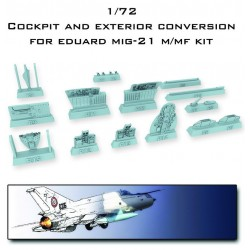 MIG 21 LANCER Conversion For EDUARD 1/72 MIG 21 M/MF KIT